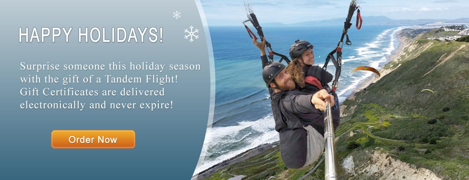 Tandem Paragliding Experience Holiday Outdoor Adventure Gift
