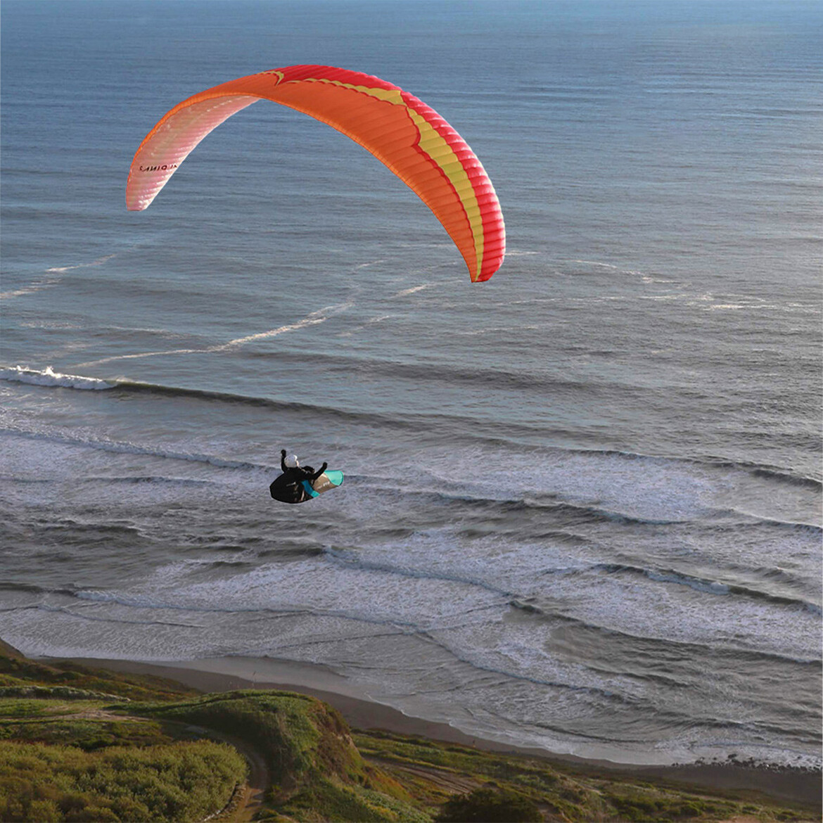 paragliding bay area